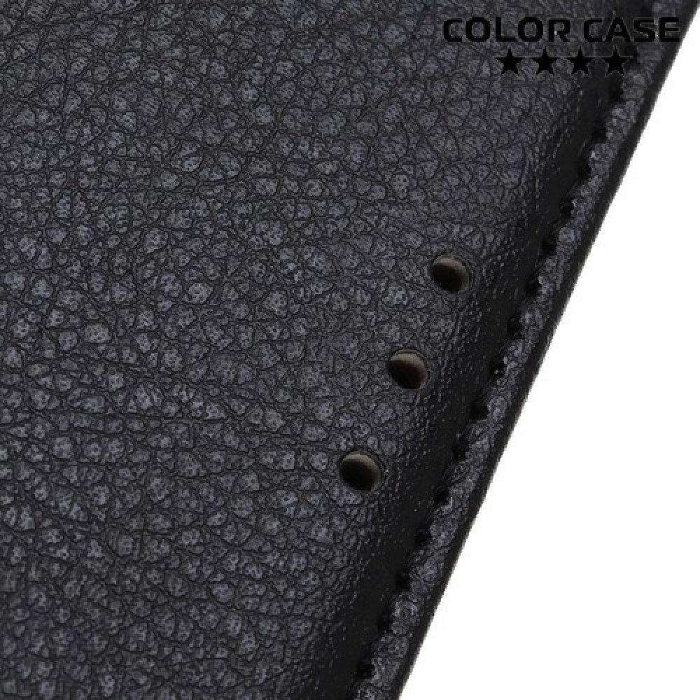 Чехол книжка для Xiaomi Redmi 7A - Черный