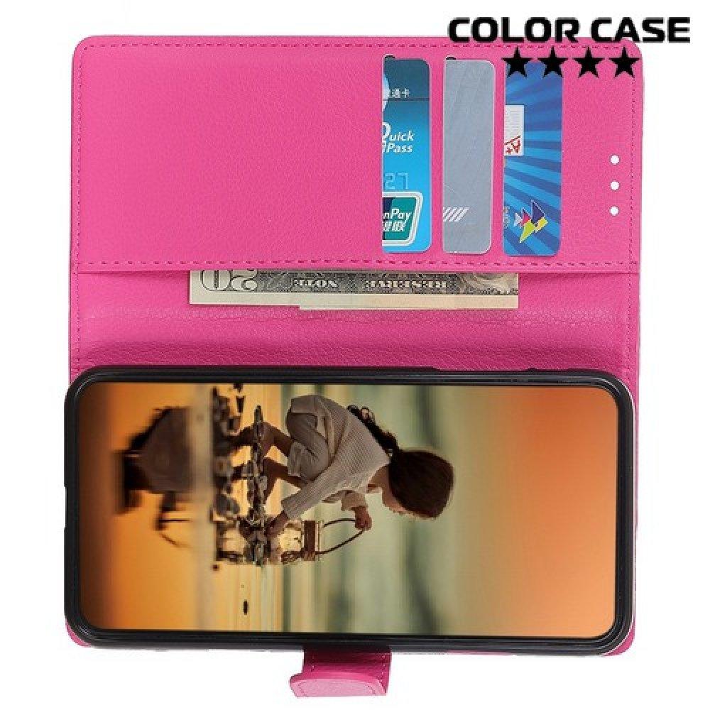 Чехол книжка для Xiaomi Redmi 7A - Розовый
