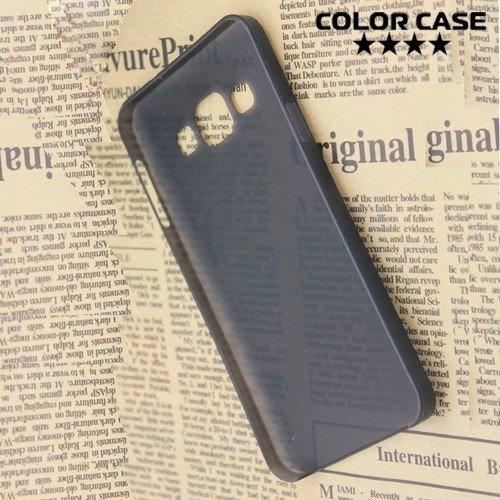 Тонкий чехол для Samsung Galaxy A3 - черный