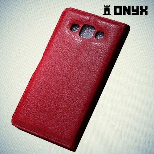 Чехол книжка для Samsung Galaxy A5 - красный