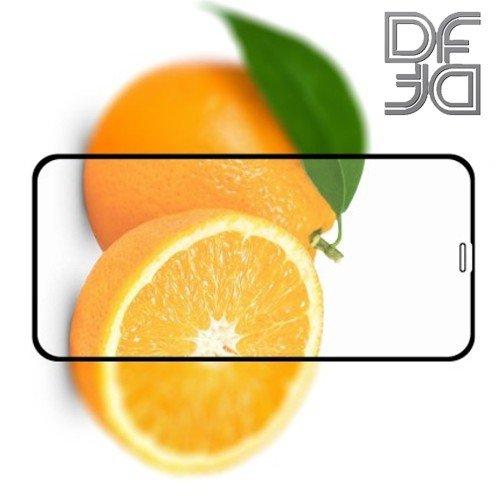 DF Защитное стекло для iPhone XS Max черное