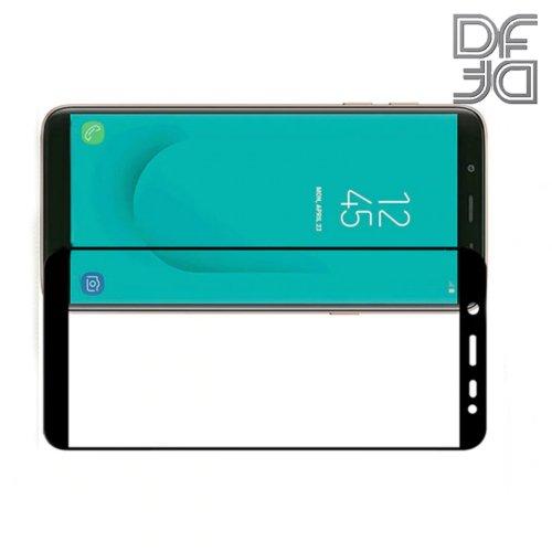 DF Защитное стекло для Samsung Galaxy J6 2018 SM-J600F черное
