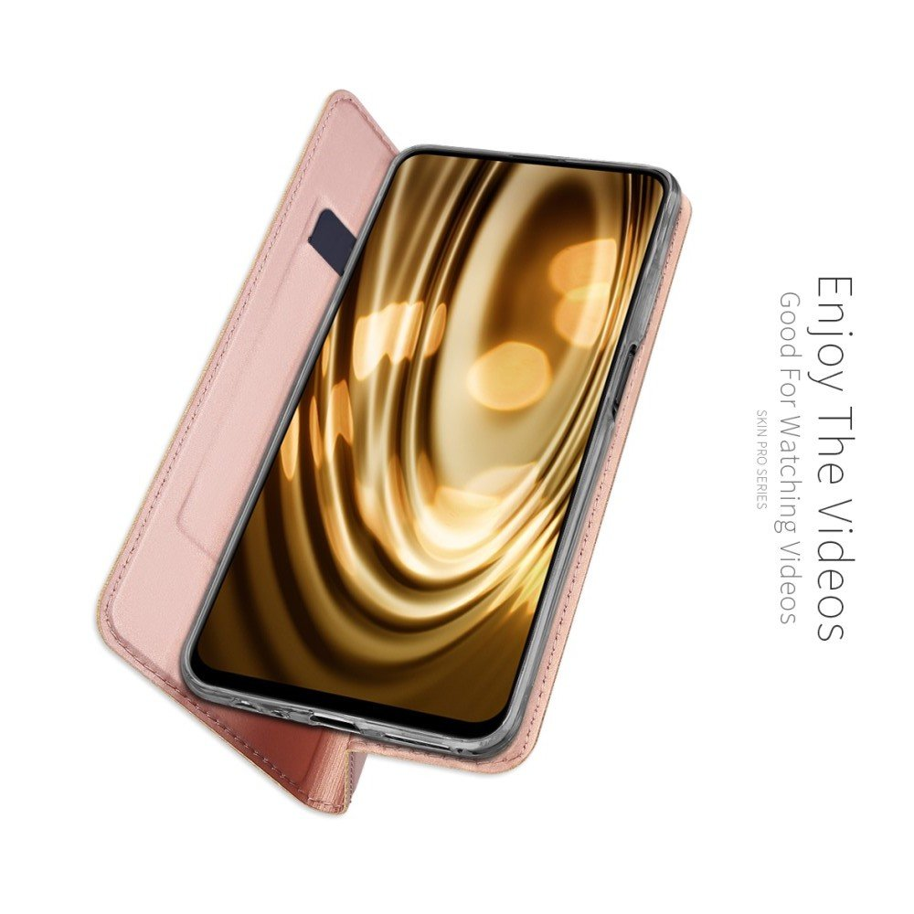 Dux Ducis чехол книжка для Huawei Honor 9X / 9X Premium с магнитом и отделением для карты - Синий