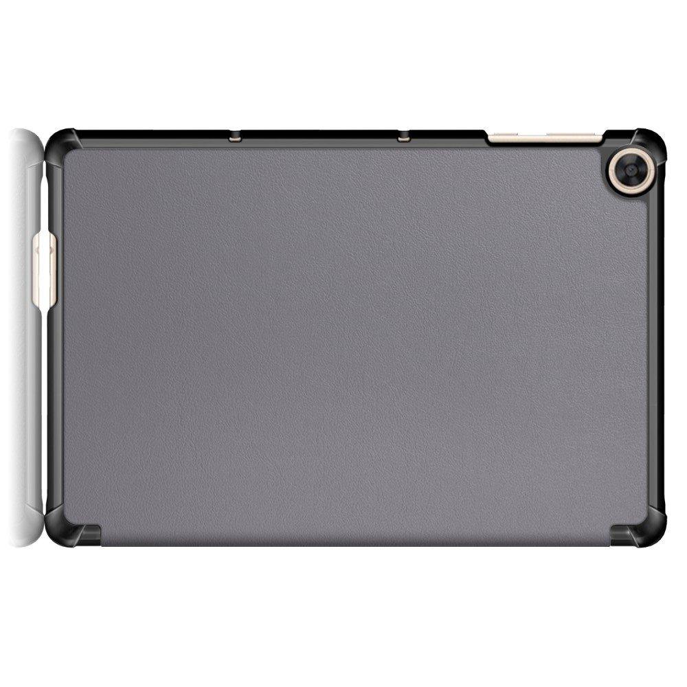 Двухсторонний чехол книжка для Huawei MatePad T10 / T10s с подставкой - Серый