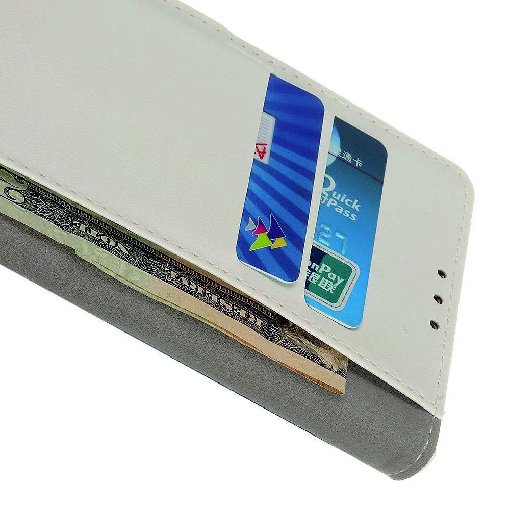 Флип чехол книжка для Samsung Galaxy A70s с рисунком совы и сердца