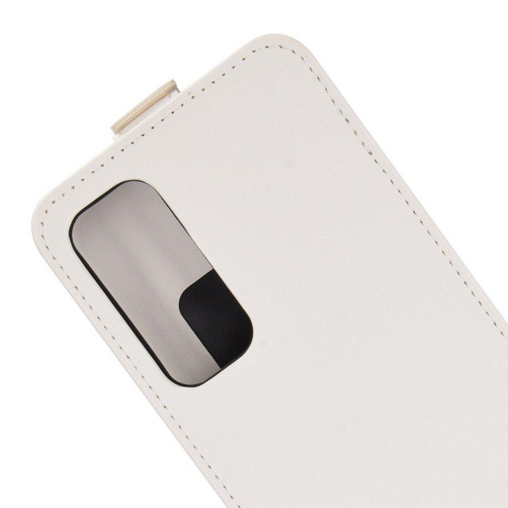 Флип чехол книжка вертикальная для Huawei P Smart 2021 - Белый