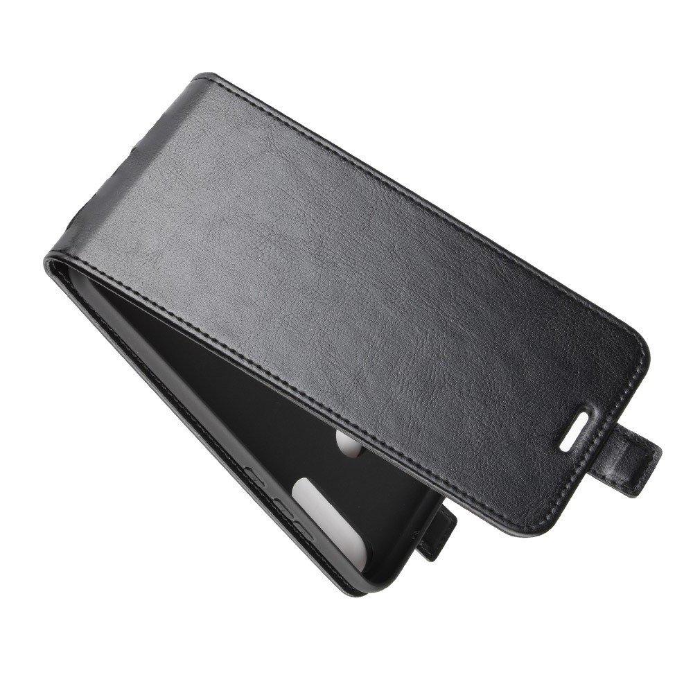 Флип чехол книжка вертикальная для Huawei P40 lite E - Черный