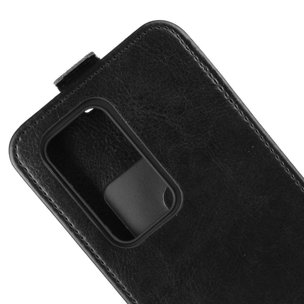 Флип чехол книжка вертикальная для Huawei P40 Pro - Черный