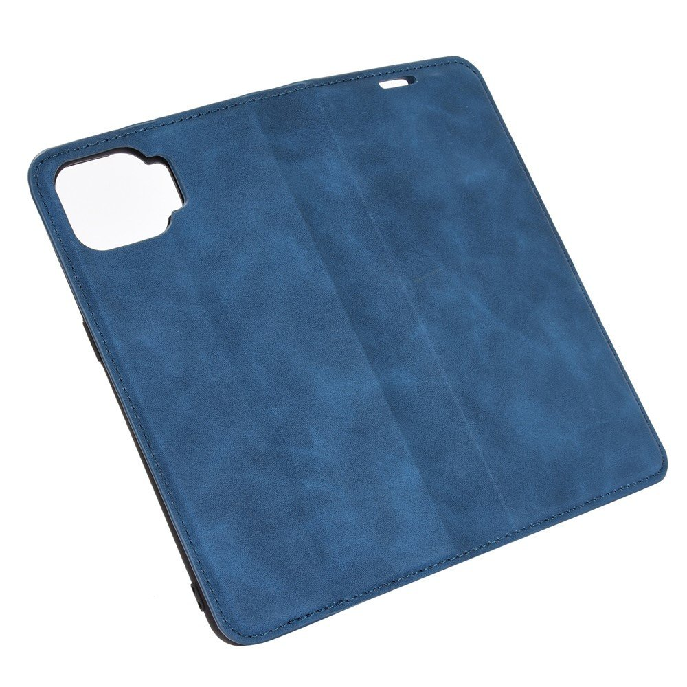 Флип чехол книжка вертикальная для OPPO Reno 4 Lite - Синий