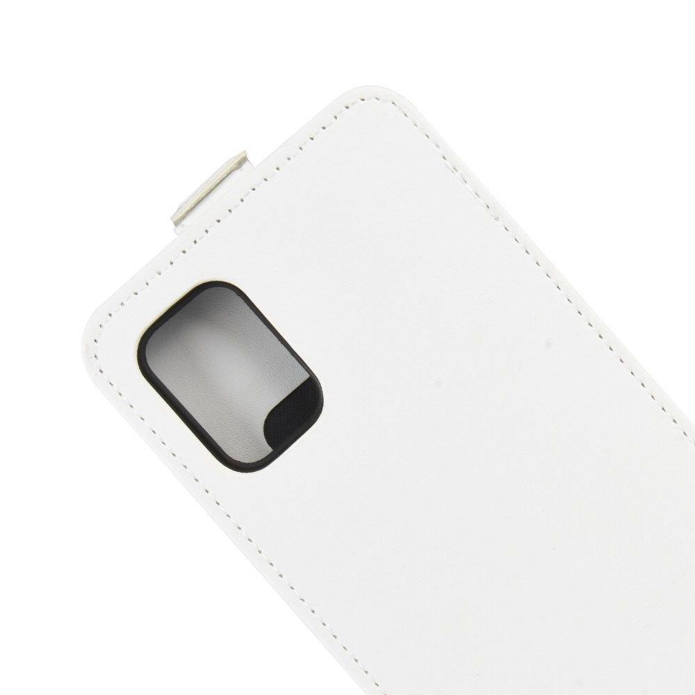 Флип чехол книжка вертикальная для Samsung Galaxy A51 - Белый