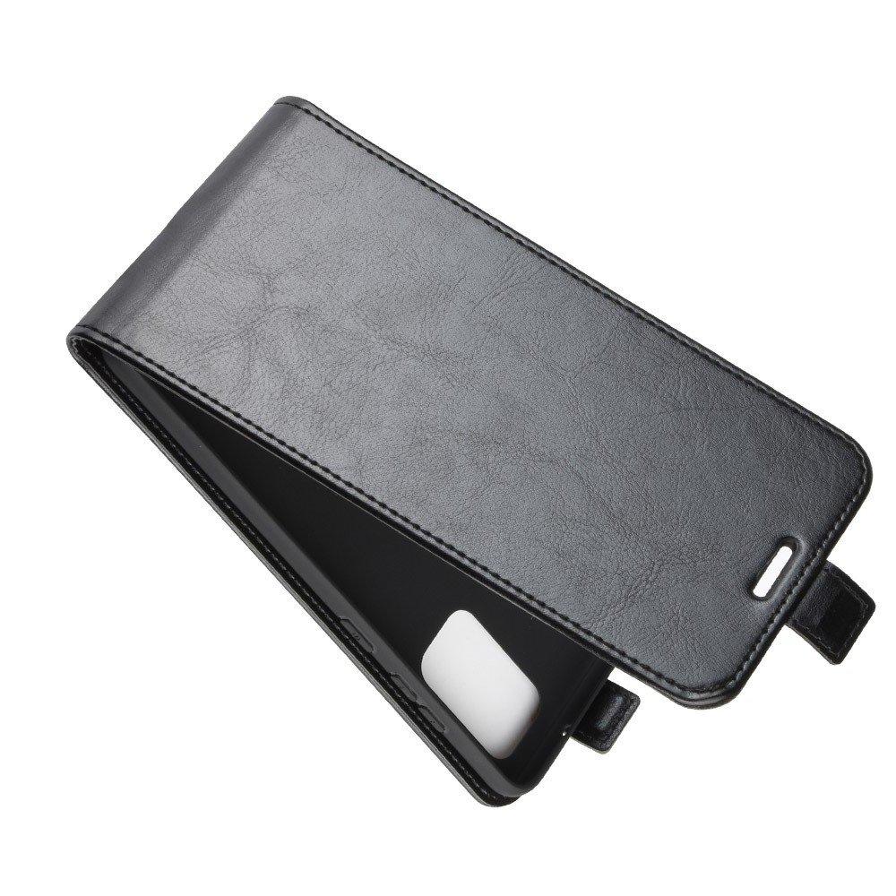 Флип чехол книжка вертикальная для Samsung Galaxy S20 FE / S20 FE - Черный