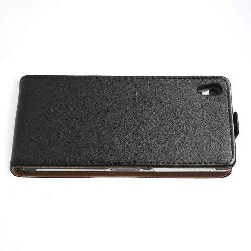 Флип чехол книжка вертикальная для Sony Xperia Z2 - Черный