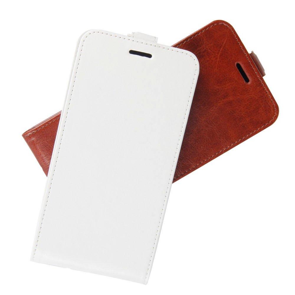 Флип чехол книжка вертикальная для Xiaomi Redmi 8 - Белый