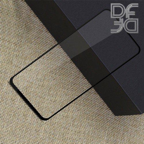 Full Glue Screen DF Защитное Закаленное Олеофобное Стекло для Huawei Honor 20 / 20 Pro / Nova 5T черное
