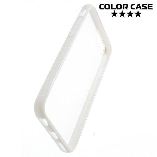 Гибридный прозрачный чехол для iPhone 6S / 6 - Белый