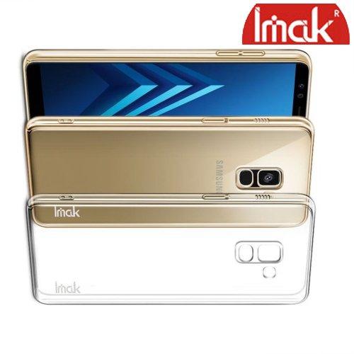 IMAK Crystal Прозрачный пластиковый кейс накладка для Samsung Galaxy A8 2018