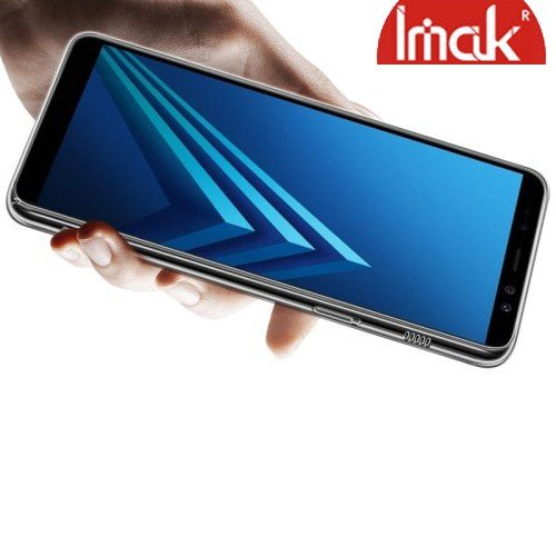 IMAK Crystal Прозрачный пластиковый кейс накладка для Samsung Galaxy A8 Plus 2018