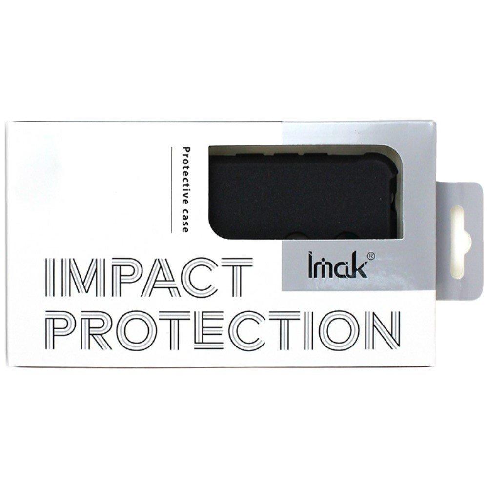 IMAK Shockproof силиконовый защитный чехол для Asus ROG Phone 2 песочно-черный и защитная пленка