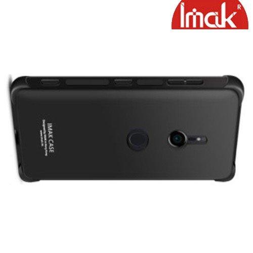 IMAK Shockproof силиконовый защитный чехол для Sony Xperia XZ3 черный
