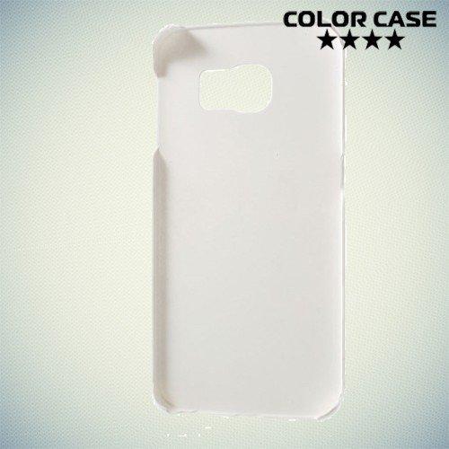 Кейс накладка для Samsung Galaxy S6 Edge - белый