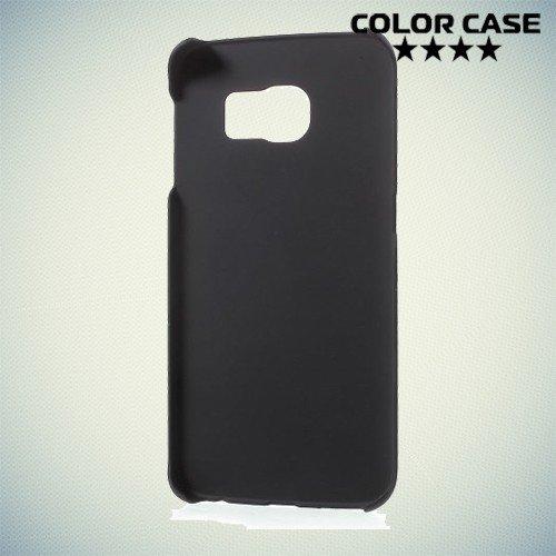 Кейс накладка для Samsung Galaxy S6 Edge - черный