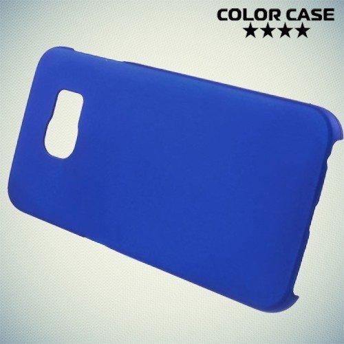 Кейс накладка для Samsung Galaxy S6 Edge - синий