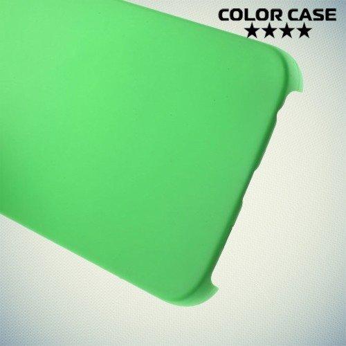 Кейс накладка для Samsung Galaxy S6 Edge - зеленый