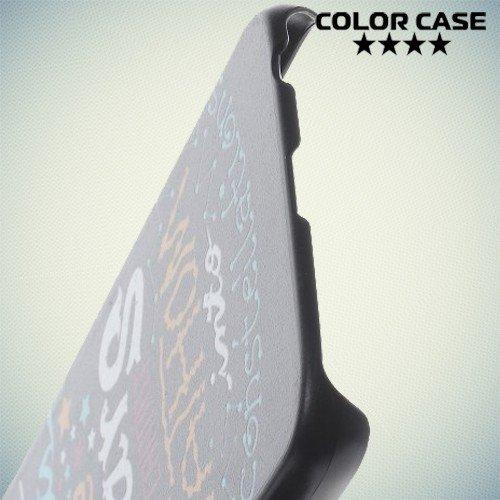 Кейс накладка для Samsung Galaxy S6 с орнаментом Виноваты звезды