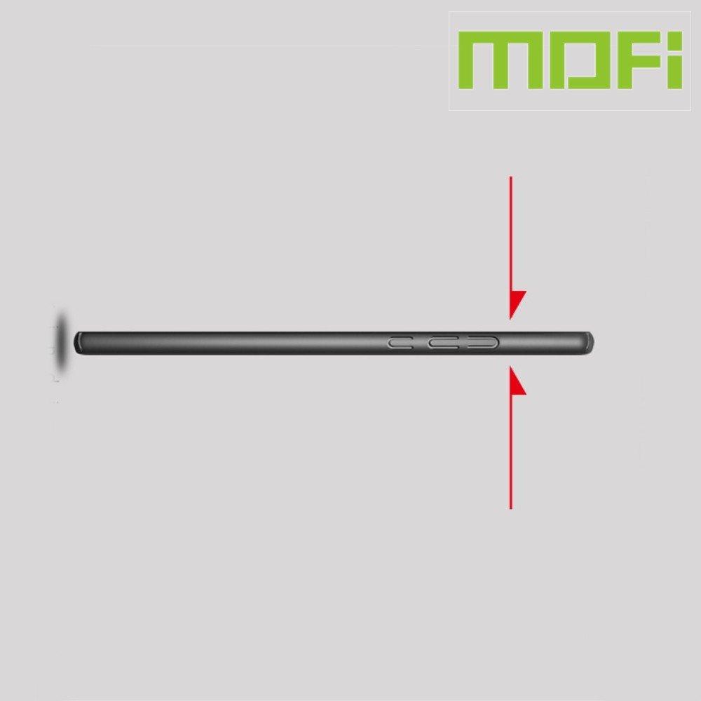 Mofi Slim Armor Матовый жесткий пластиковый чехол для Huawei P20 lite (2019) / nova 5i - Синий