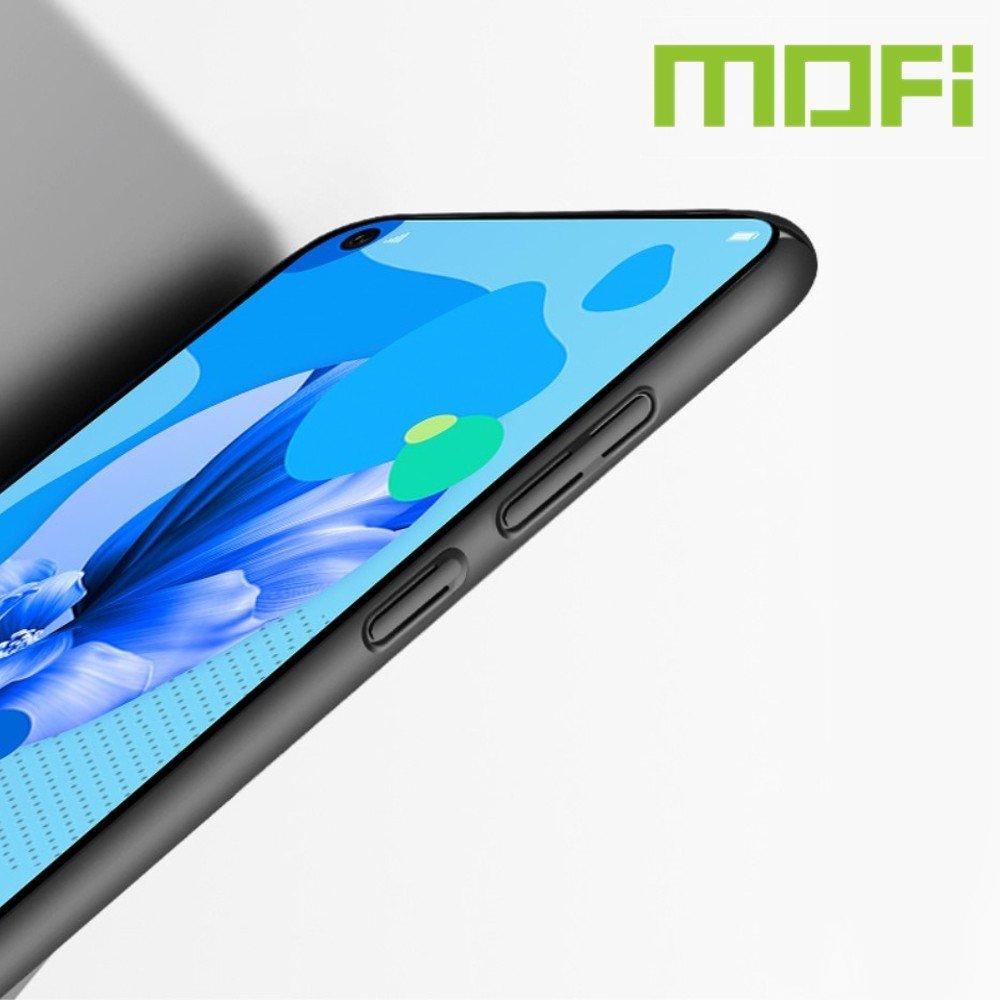 Mofi Slim Armor Матовый жесткий пластиковый чехол для Huawei P20 lite (2019) / nova 5i - Красный
