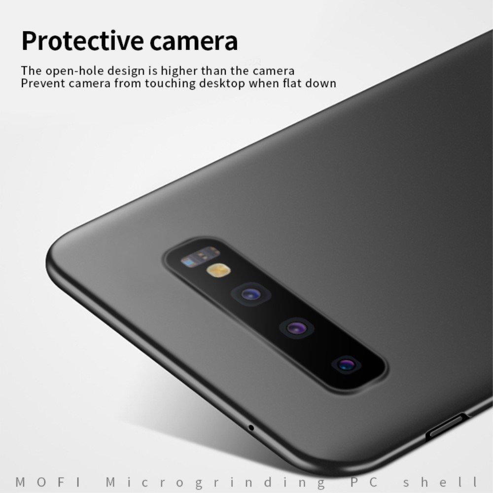 Mofi Slim Armor Матовый жесткий пластиковый чехол для Samsung Galaxy S10 - Красный