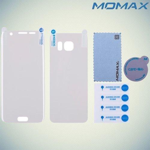 MOMAX PRO+ Изогнутая защитная пленка с закругленными краями для Samsung Galaxy S7 Edge