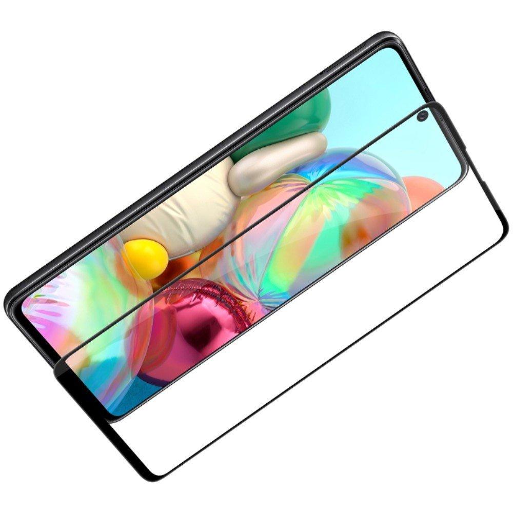 NILLKIN Amazing CP+ Противоударное Полноэкранное Олеофобное Защитное Стекло для Samsung Galaxy A71 Прозрачное