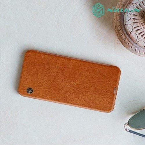 NILLKIN Qin чехол флип кейс для Samsung Galaxy J6 Plus - Коричневый