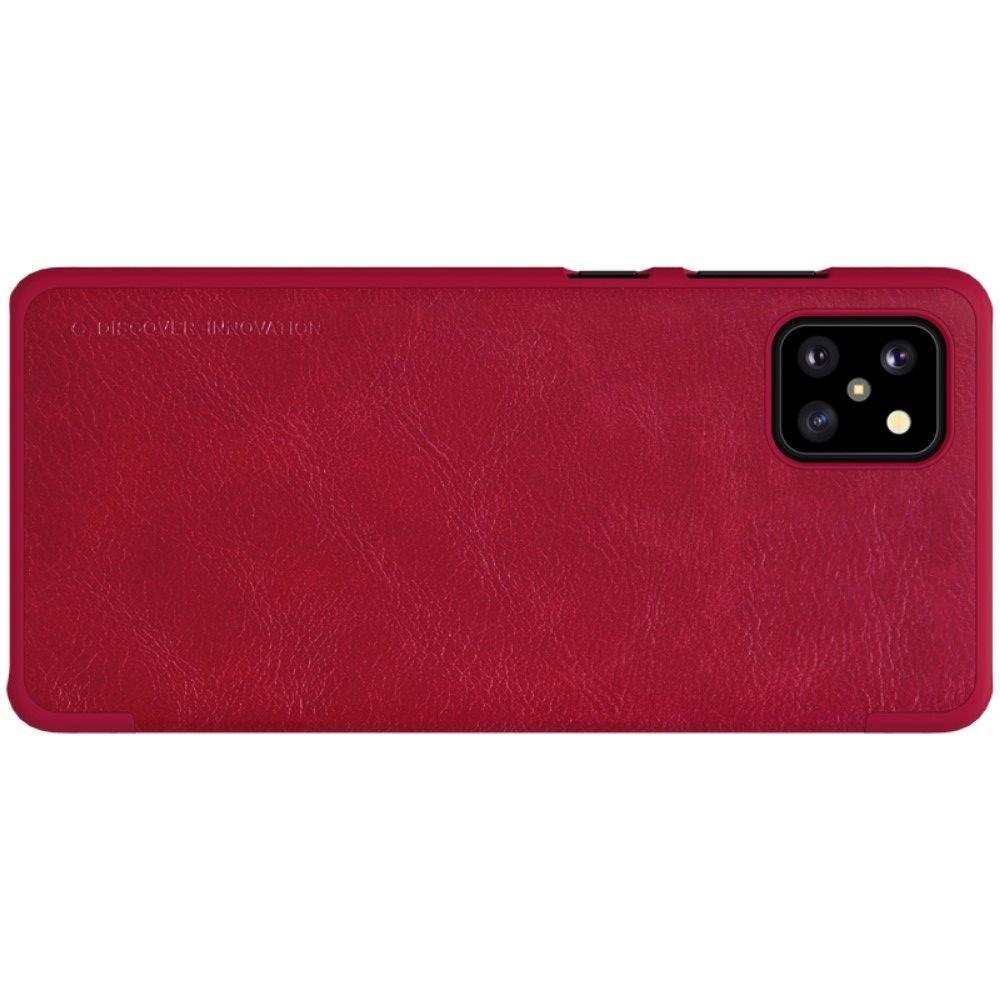 NILLKIN Qin чехол флип кейс для Samsung Galaxy Note 10 Lite - Красный