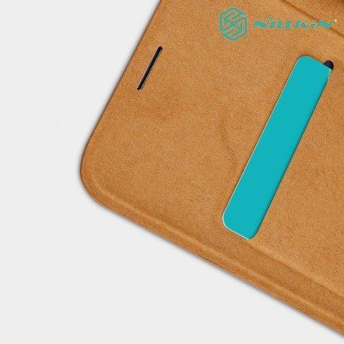 NILLKIN Qin чехол флип кейс для Samsung Galaxy S10 - Коричневый