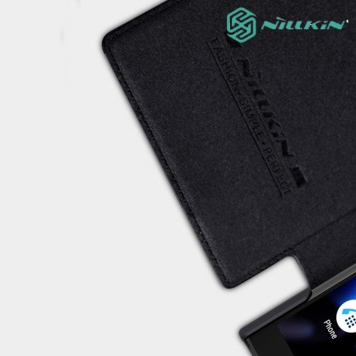NILLKIN Qin чехол флип кейс для Sony Xperia XA2 Plus - Черный