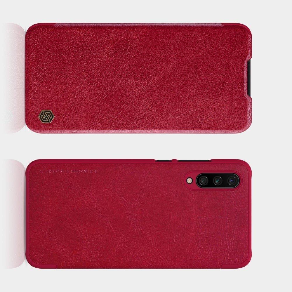 NILLKIN Qin чехол флип кейс для Xiaomi Mi A3 - Коричневый
