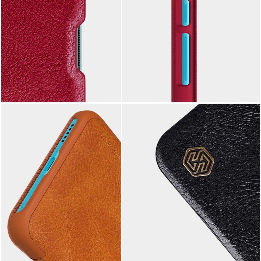 NILLKIN Qin чехол флип кейс для Xiaomi Poco F2 Pro - Красный