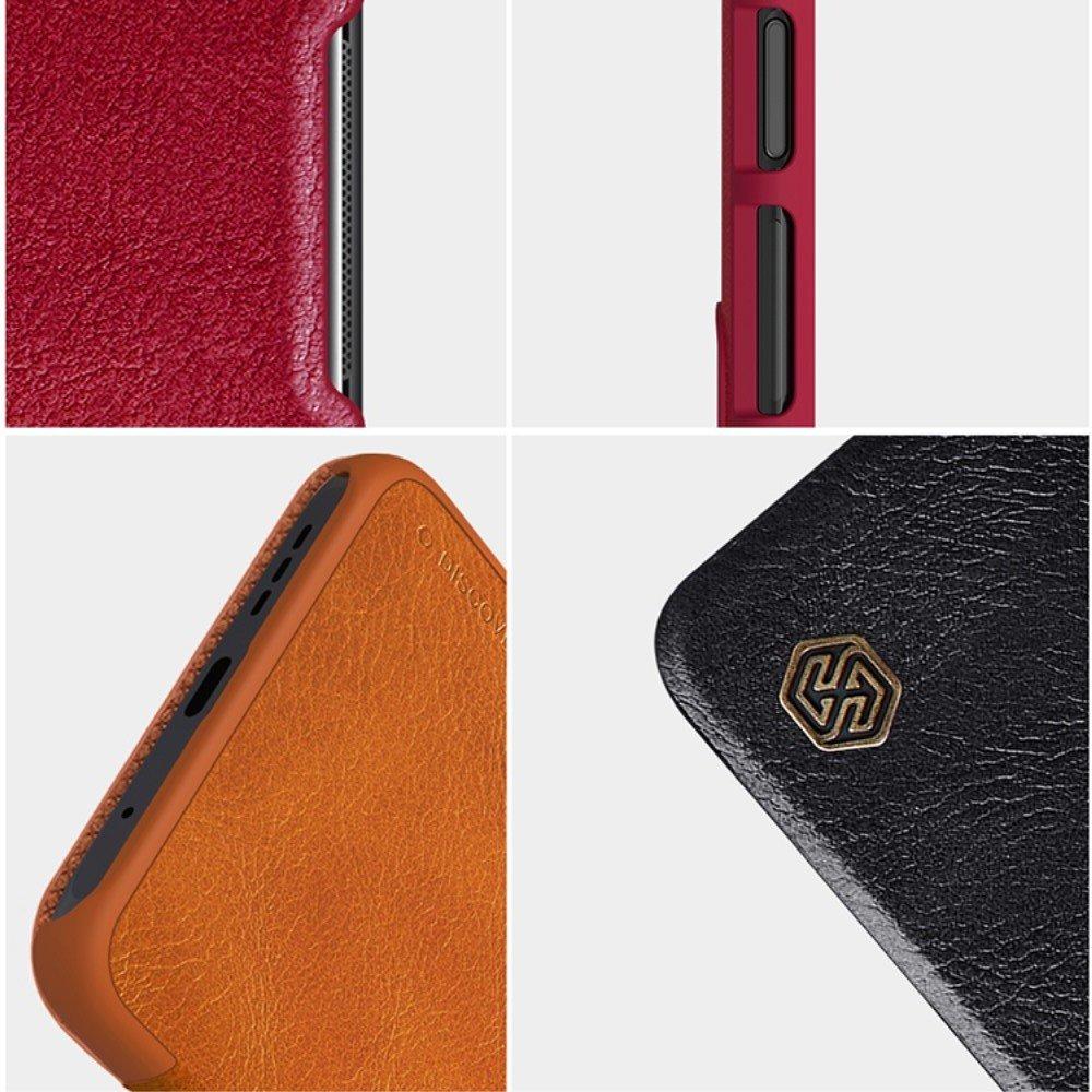 NILLKIN Qin чехол флип кейс для Xiaomi Poco M3 - Красный