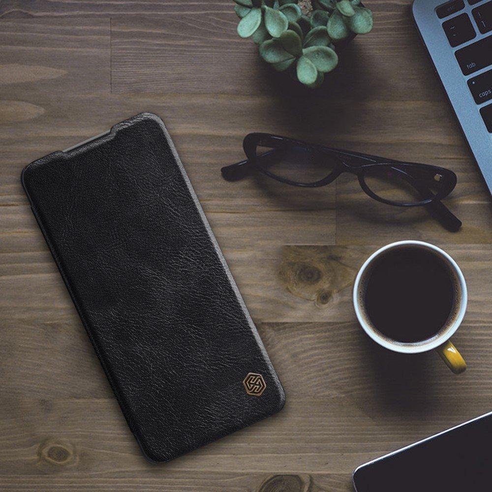 NILLKIN Qin чехол флип кейс для Xiaomi Redmi Note 10 Pro - Черный