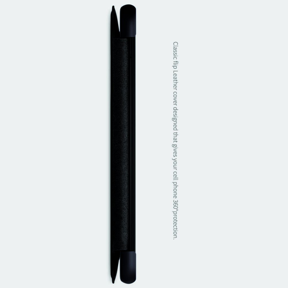 NILLKIN Qin чехол флип кейс для Xiaomi Redmi Note 8 - Черный
