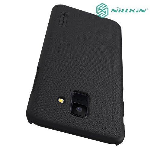 NILLKIN Super Frosted Shield Клип кейс накладка для Samsung Galaxy A6 2018 SM-A600F - Черный