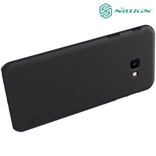NILLKIN Super Frosted Shield Клип кейс накладка для Samsung Galaxy J4 Plus - Черный