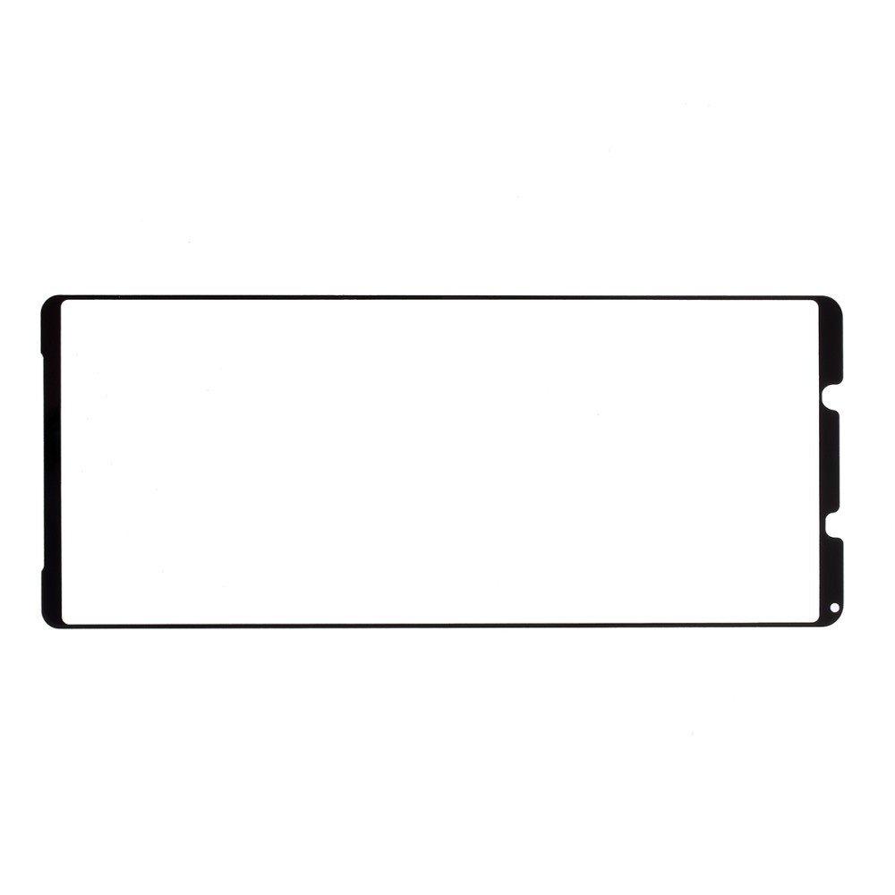 Олеофобное Закаленное Защитное Стекло для Sony Xperia 1 II черное