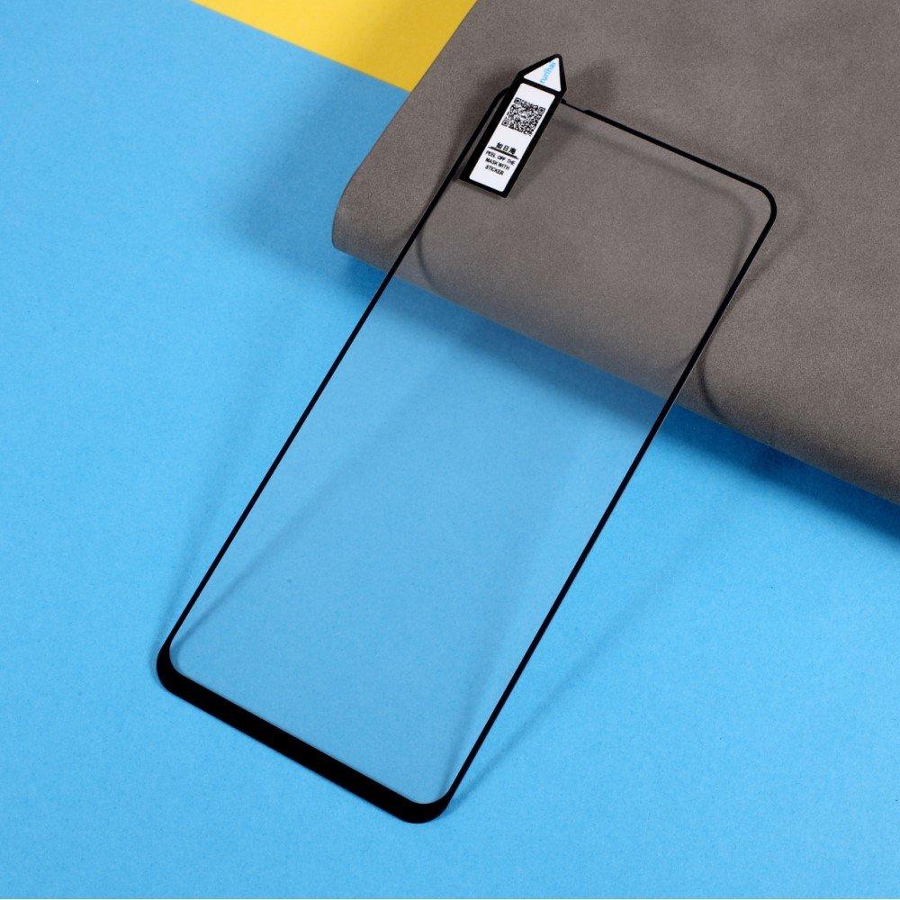 Олеофобное Закаленное Защитное Стекло для Xiaomi Redmi Note 10 черное