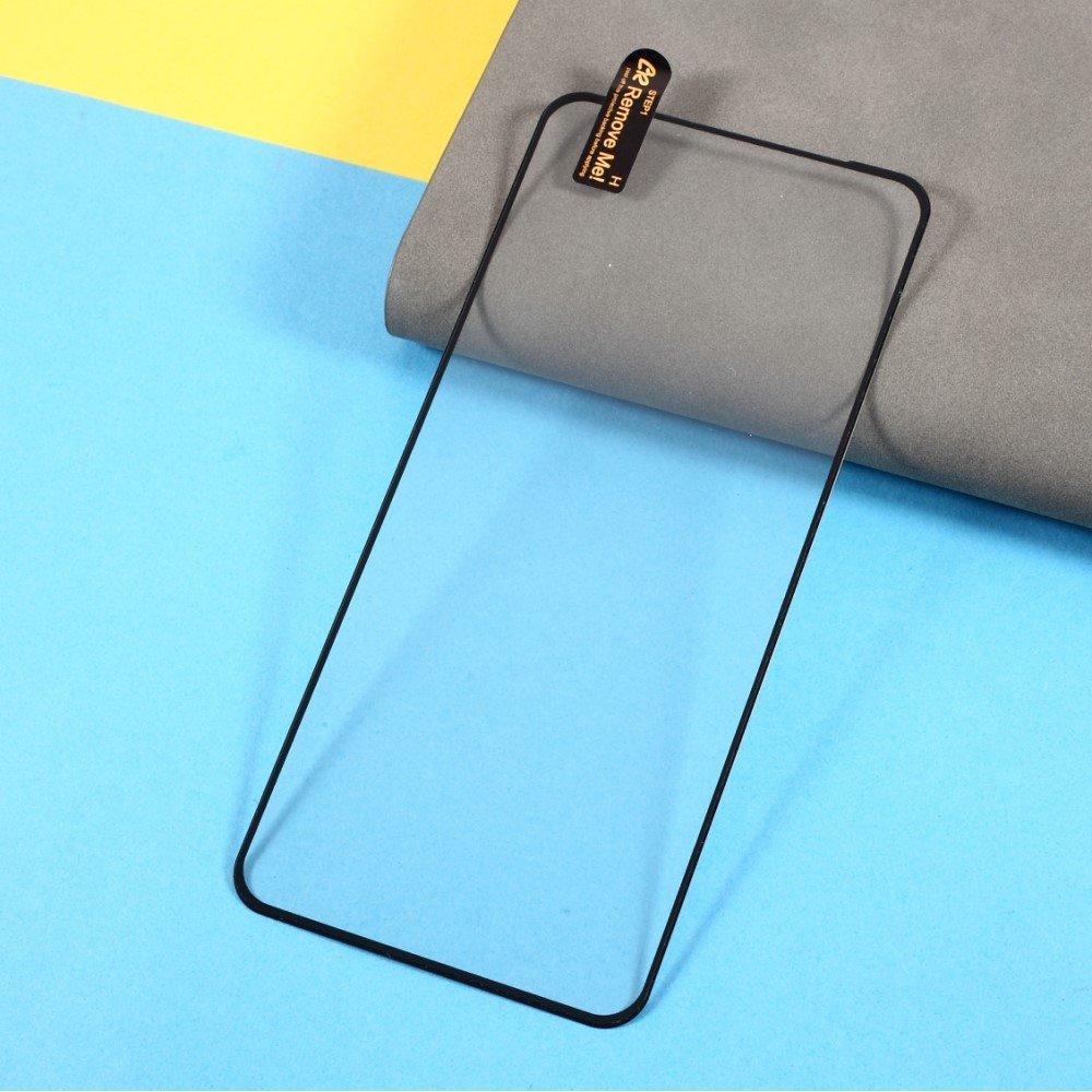 Олеофобное Закаленное Защитное Стекло для Xiaomi Redmi Note 9T черное