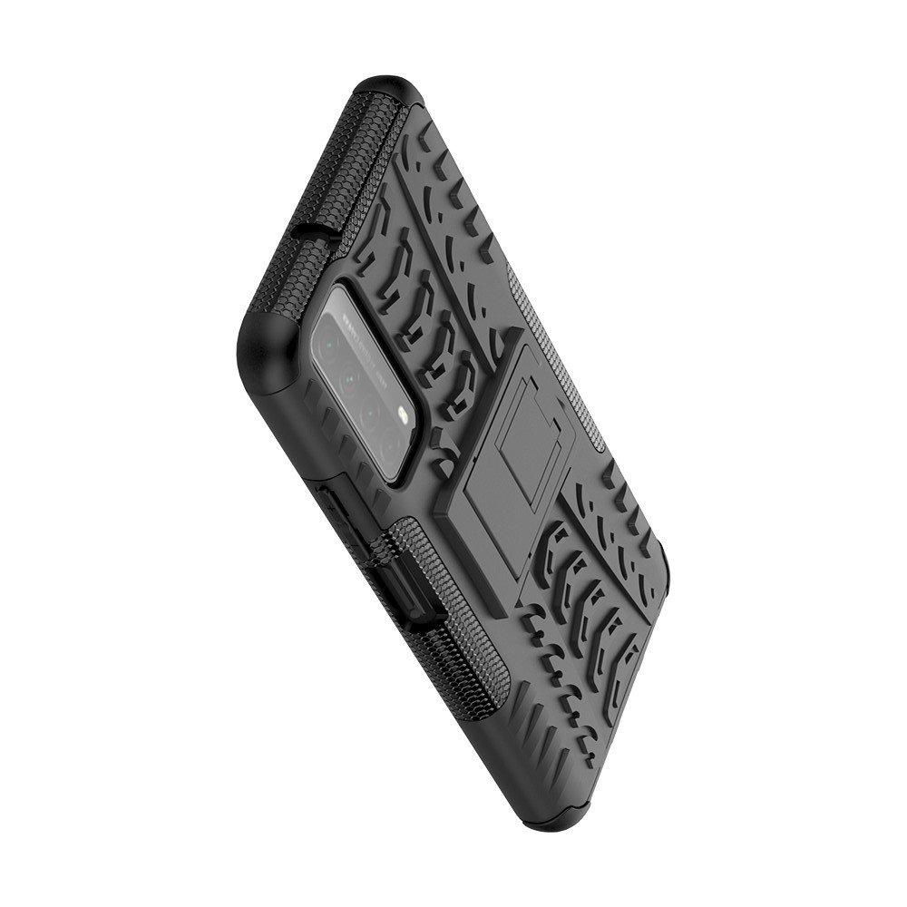 ONYX Противоударный бронированный чехол для Huawei P Smart 2021 - Черный