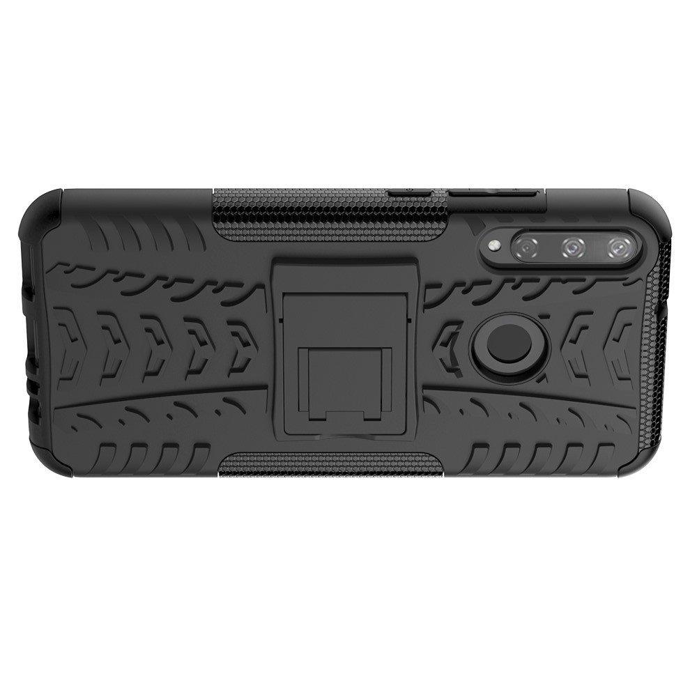 ONYX Противоударный бронированный чехол для Huawei P40 lite E - Черный