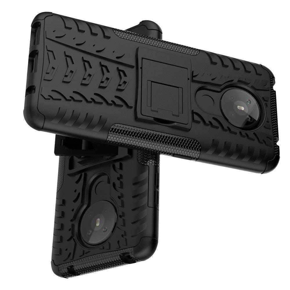 ONYX Противоударный бронированный чехол для Nokia 5.3 - Черный